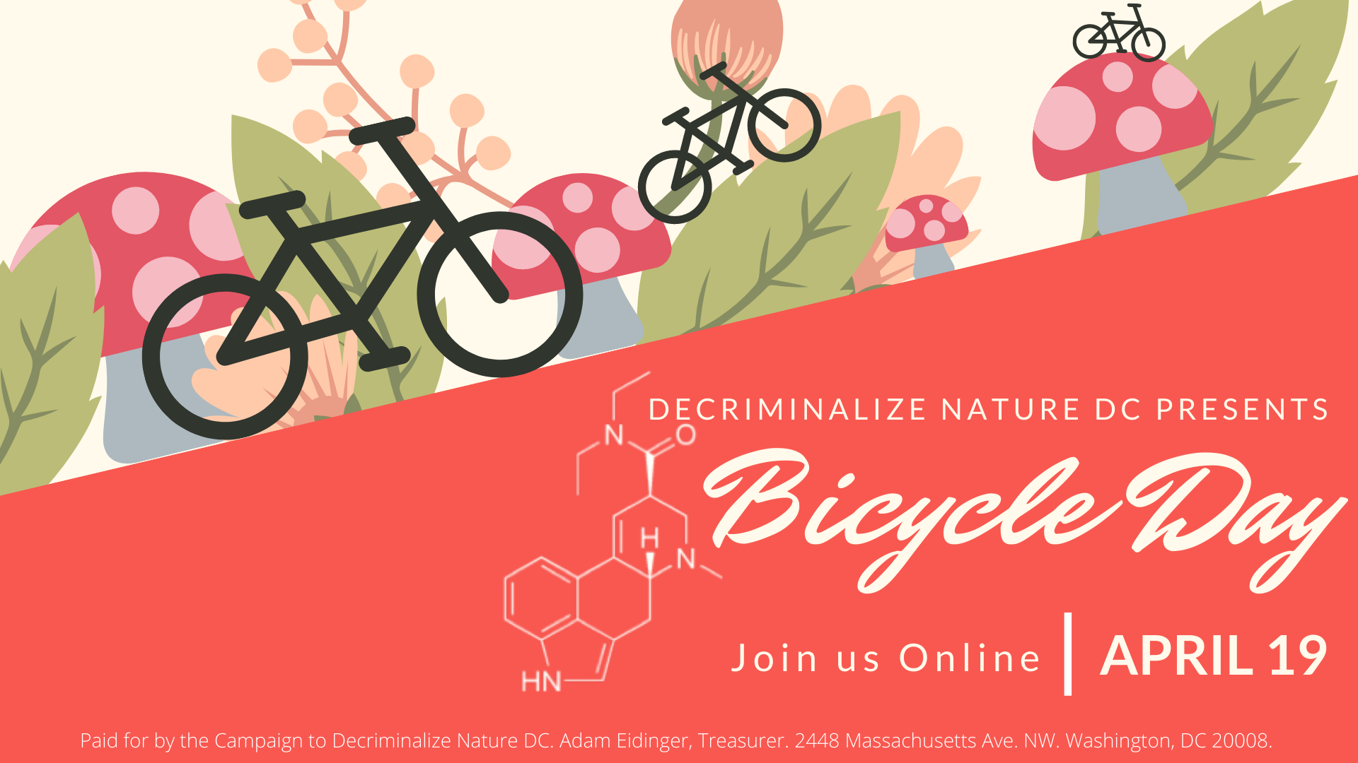 Join us for Bicycle Day!
